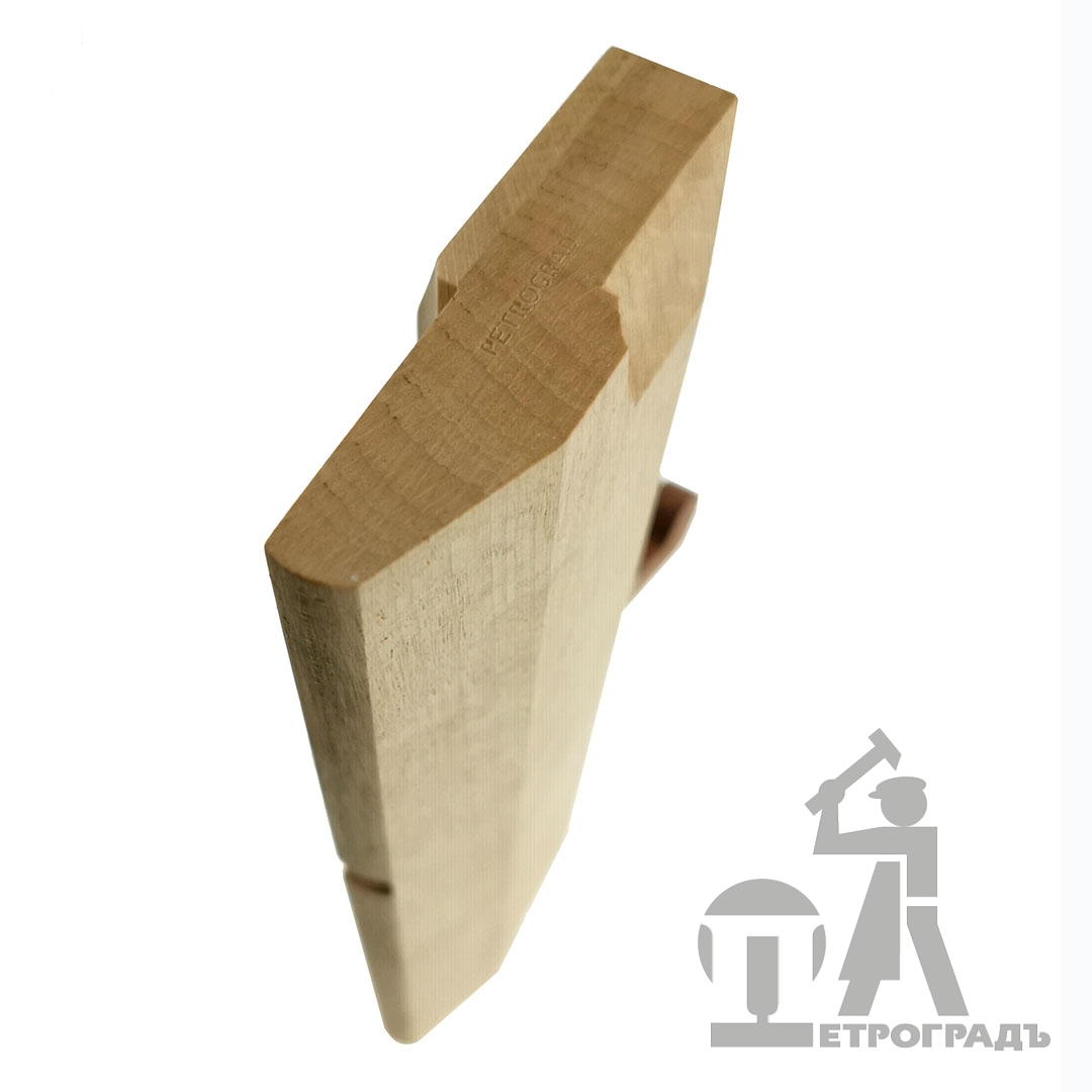 Wooden moulding plane PETROGRAD, fillet r10, 10mm