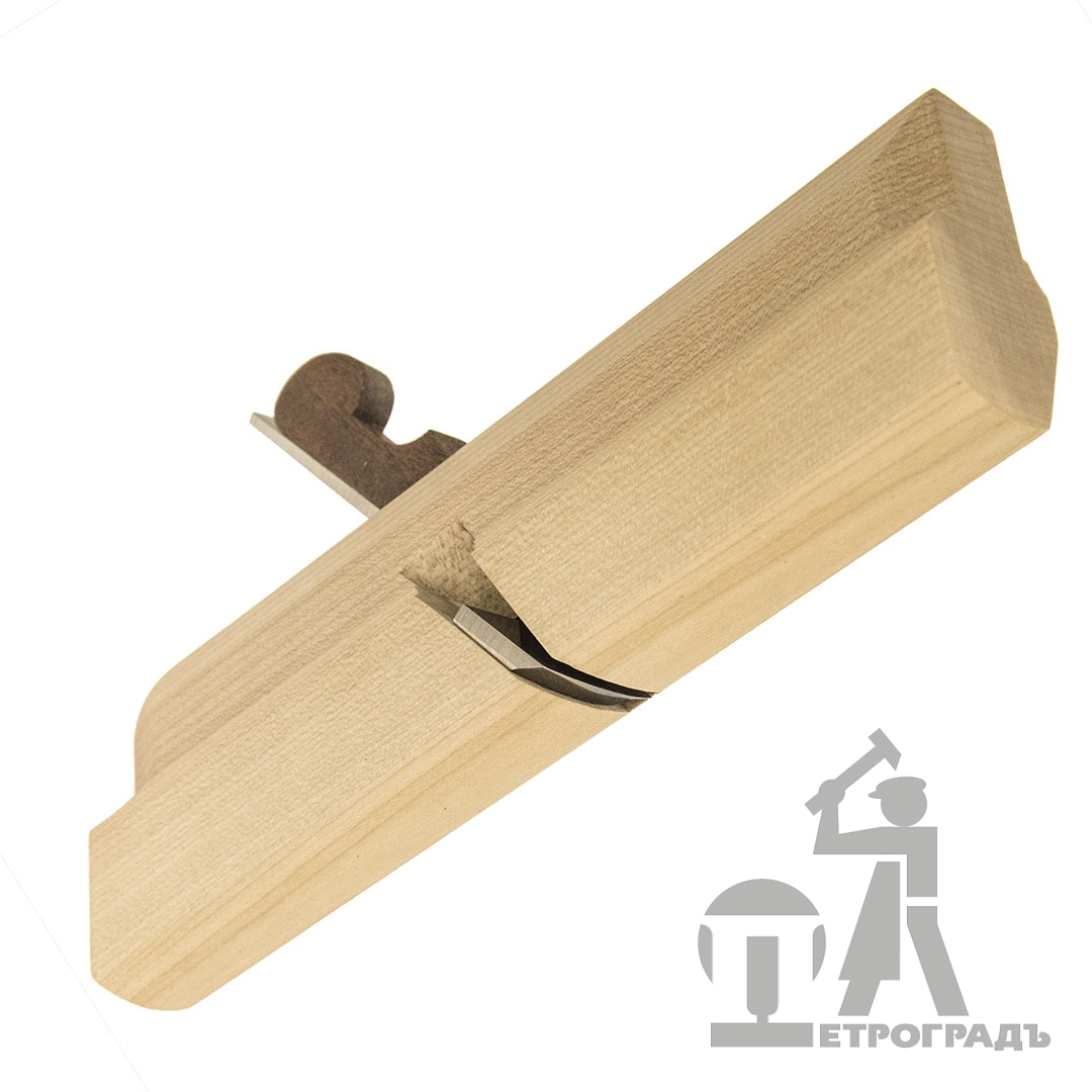 Wooden moulding plane PETROGRAD, fillet r20, 20mm