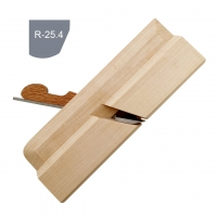 Wooden moulding plane PETROGRAD, fillet r25.4,30mm