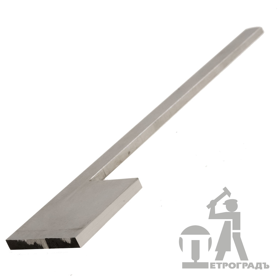 Blank blade for moulding plane, `flag`, w/o sharpening, 30mm*180mm