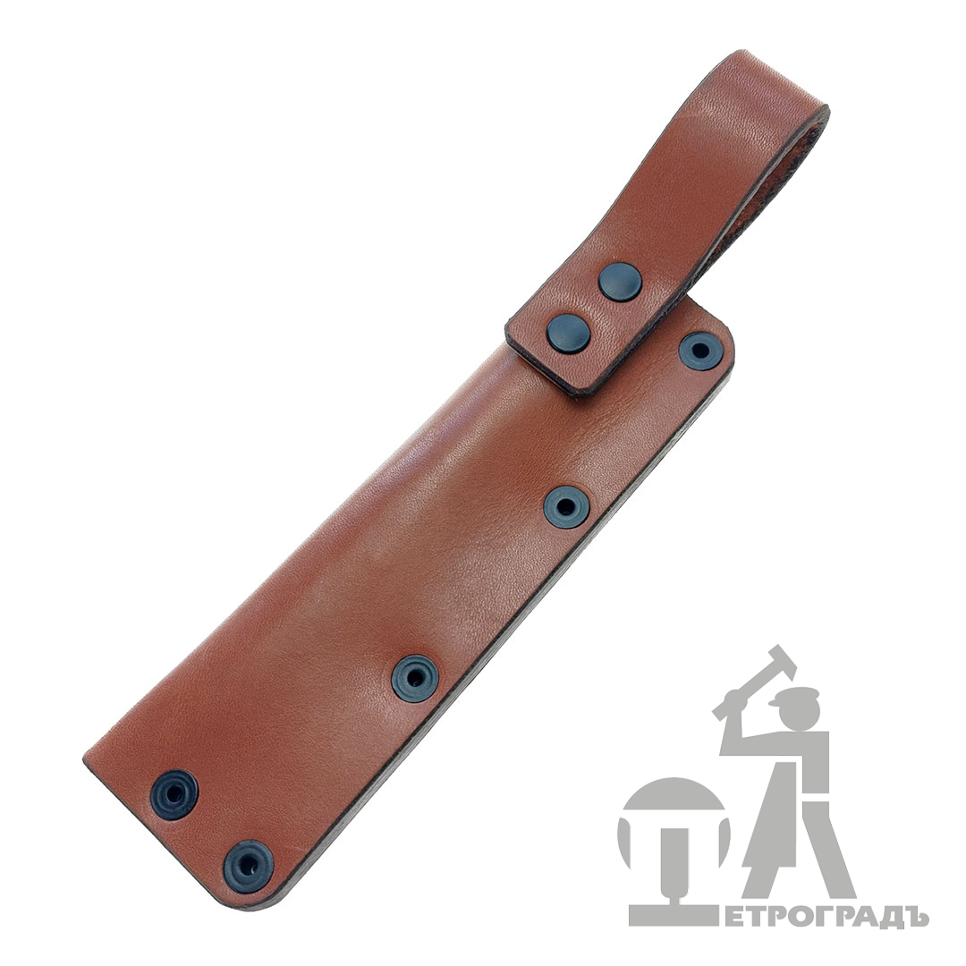 Leather belt sheath for craft knives PETROGRAD
