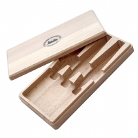 Wooden box for carving knife PETROGRAD, for 3 knives