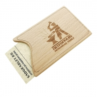 Beech card holder PETROGRAD