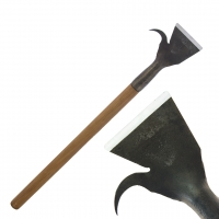 Barking shovel N3, straight with hook, 100mm